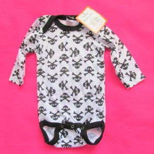 NEW skull baby halloween costume infant clothes